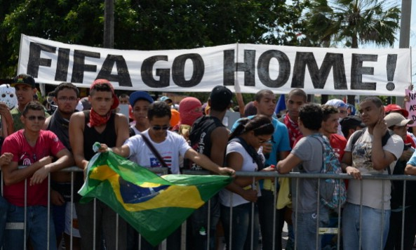 2014 FIFA World Cup protest