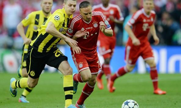 Borussia Dortmund Bayern Munich Franck Ribery
