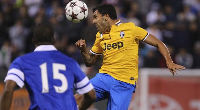 Juventus Carlos Tevez Everton