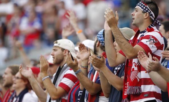 USA USMNT fans