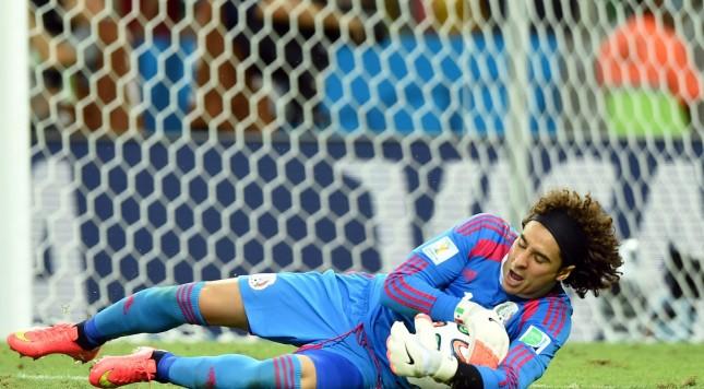 2014 FIFA World Cup Guillermo Ochoa save Mexico