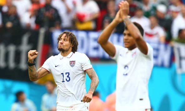 2014 FIFA World Cup USMNT USA Jermaine Jones DeAndre Yedlin
