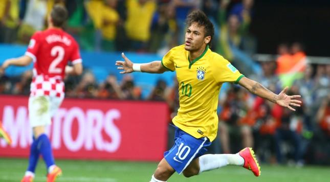 2014 FIFA World Cup Neymar Brazil