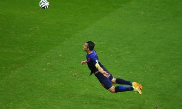 2014 FIFA World Cup Robin van Persie Netherlands