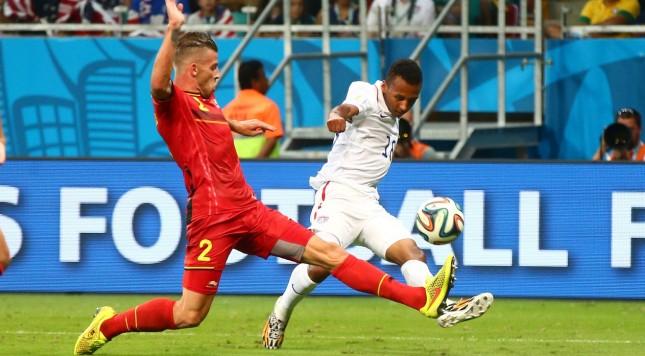 2014 FIFA World Cup Belgium USA USMNT Julian Green Toby Alderweireld