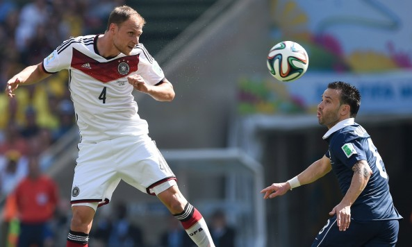 2014 FIFA World Cup Germany Benedikt Howedes France Mathieu Valbuena