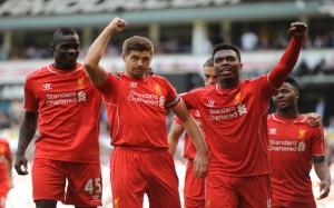 Mario Balotelli Steven Gerrard Liverpool