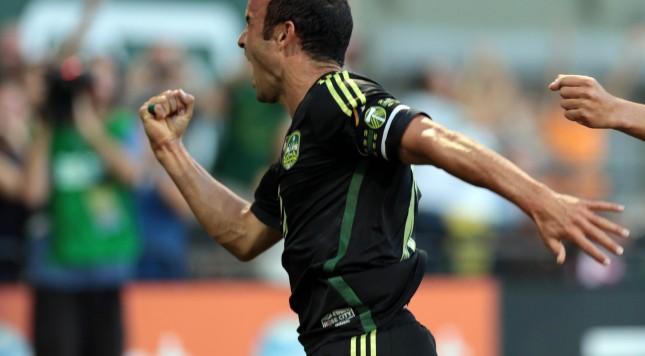 MLS All Star Game Bayern Munich Landon Donovan