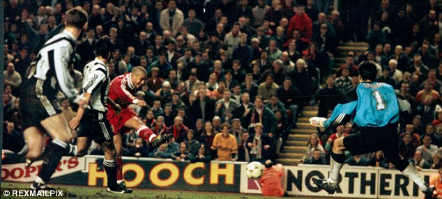 Liverpool Newcastle United Stan Collymore