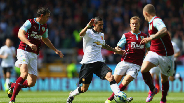 Manchester United Burnley Angel di Maria