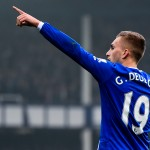 LIVERPOOL, ENGLAND - NOVEMBER 01:  Gerard Deulofeu of Everton celebrates after scoring the opening goal during the Barclays Premier League match between Everton and Sunderland at Goodison Park on November 1, 2015 in Liverpool, England.  (Photo by David Ramos/Getty Images)