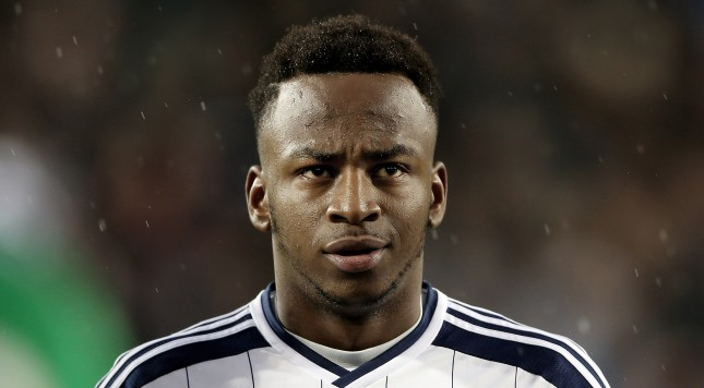 WEST BROMWICH, ENGLAND - DECEMBER 26:  Saido Berahino of WBA during the Barclays Premier League match between West Bromwich Albion and Manchester City at The Hawthorns on December 26, 2014 in West Bromwich, England.  (Photo by Scott Heavey/Getty Images)