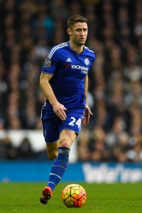 LONDON, ENGLAND - NOVEMBER 29:  Gary Cahill of Chelsea in action during the Barclays Premier League match between Tottenham Hotspur and Chelsea at White Hart Lane on November 29, 2015 in London, England.  (Photo by Mike Hewitt/Getty Images)