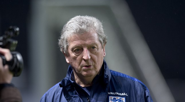 BERLIN, GERMANY - MARCH 25:  England Coach Roy Hodgson during a training session prior to the International Friendly match against Germany at the Olympiastadion on March 25, 2016 in Berlin, Germany.  (Photo by Annegret Hilse/Getty Images)