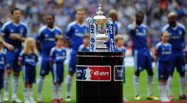 LONDON, ENGLAND - MAY 15:  The FA Cup Trophy is pictures prior to the FA Cup sponsored by E.ON Final match between Chelsea and Portsmouth at Wembley Stadium on May 15, 2010 in London, England.  (Photo by Shaun Botterill/Getty Images)