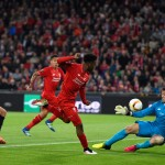 BASEL, SWITZERLAND - MAY 18:  Daniel Sturridge of Liverpool shoots at goal during the UEFA Europa League Final match between Liverpool and Sevilla at St. Jakob-Park on May 18, 2016 in Basel, Switzerland.  (Photo by David Ramos/Getty Images)