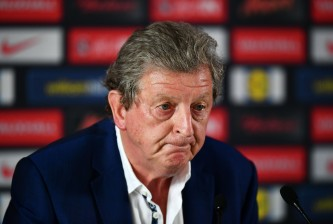 CHANTILLY, FRANCE - JUNE 28:  Roy Hodgson speaks during a press conference on June 28, 2016 in Chantilly, France.  (Photo by Dan Mullan/Getty Images)