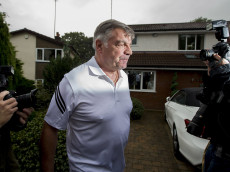 BOLTON, ENGLAND - SEPTEMBER 28: Former England manager Sam Allardyce leaves his family home on September 28, 2016 in Bolton, England. Allardyce left his position as the national football manager after only one match in charge following allegations made by a national newspaper. (Photo by Dave Thompson/Getty Images)