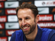 ENFIELD, ENGLAND - NOVEMBER 14:  Gareth Southgate interim manager of England speaks during an England press conference on the eve of their international friendly match against Spain at Tottenham Hotspur Training Centre on November 14, 2016 in Enfield, England.  (Photo by Clive Rose/Getty Images)
