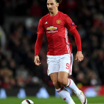 MANCHESTER, ENGLAND - NOVEMBER 24:  Zlatan Ibrahimovic of Manchester United during the UEFA Europa League match between Manchester United FC and Feyenoord at Old Trafford on November 24, 2016 in Manchester, England.  (Photo by Gareth Copley/Getty Images)