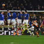 HULL, ENGLAND - DECEMBER 30: Robert Snodgrass of Hull City scores with a free kick for his team's second goal during the Premier League match between Hull City and Everton at KCOM Stadium on December 30, 2016 in Hull, England.  (Photo by Gareth Copley/Getty Images)