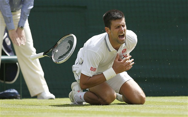 ESPN's best moment from week one was its willingness to stick with this breaking-news story and not cut away to commercials or other matches. Novak Djokovic appears to be fine, but he also appeared -- for a few harrowing minutes -- to be at risk of retiring from Wimbledon after this injury scare on Friday during his match against Gilles Simon.