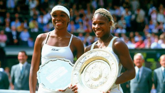 The Williams Sisters contested four Wimbledon singles finals, keeping a lot of prize money, prestige, and championship glory in the same family. In light of what the Williamses have endured over time, the reality of seeing Serena and Venus compete for championships on Centre Court represented the culmination of a family's triumph within -- and over -- tennis.