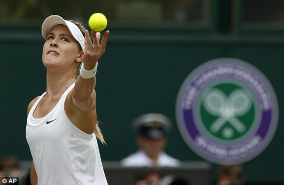 Eugenie Bouchard had to be able to serve like... well... Petra Kvitova in order to have a chance of winning this match, realistically in a couple of tiebreakers. Yet, Bouchard doesn't serve like Kvitova. Her opponent gained the zone and stayed there. The Canadian will almost surely return to the major-final stage. On Saturday, she wasn't given a chance to find her footing. The dialogue of tennis can work that way sometimes.