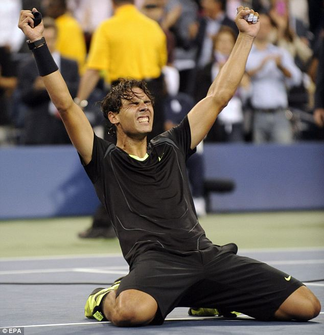 Rafael Nadal finally won the U.S. Open in 2010 after several years in which he came up short. Nadal completed the career Grand Slam at the age of 24, a testament to how great he was in the early and early-middle stages of his career.