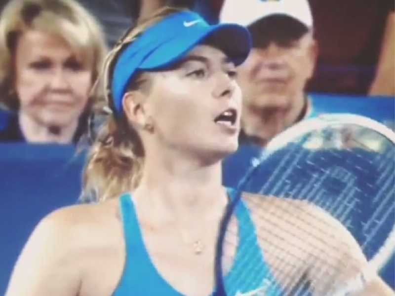 "Simona Halep's blood pressure needs to remain stable if she faces Maria Sharapova in a possible blockbuster quarterfinal. Sharapova and Halep are the ""compelling match magnets"" on the WTA Tour right now. Sharapova, though, has beaten Halep on both Parisian clay and Cincinnati cement. It's Halep who has more to prove in that match... if both players get that far in the tournament."
