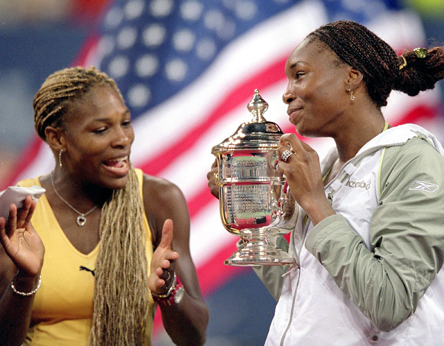 Serena and Venus enabled the Williams family to have the stage all to itself -- in prime time, no less -- on one of the more significant nights in 21st-century tennis history.  Americans watched in big numbers. A one-of-a-kind buzz filled Arthur Ashe Stadium. The journey of the Williams Sisters to the top of their sport, on American soil, made the 2001 U.S. Open final a moment that was meaningful, but not for the way in which it unfolded. The meaning was found in the fact that the journey had reached such a lofty elevation, giving Serena, Venus, Oracene, and Richard a shared triumph before the world.