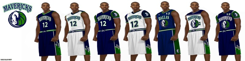 Mavericks jersey idea 1, crowdSPRING