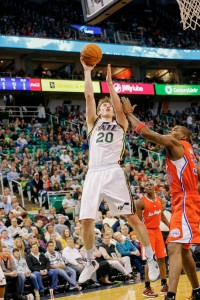 Gordon Hayward Leads Utah In Points And Assists Per Game