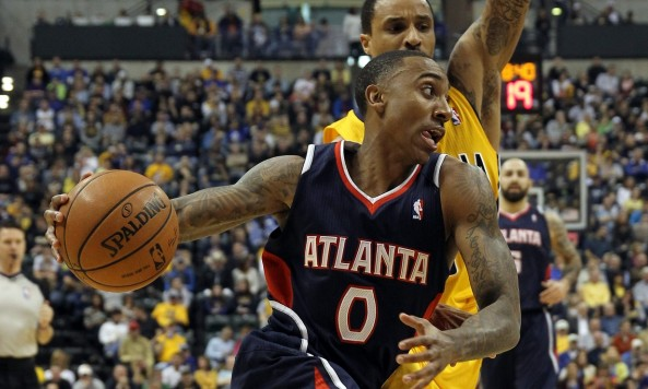 Jeff Teague is a big reason for the Hawks' surge. Photo by Pat Lovell-USA TODAY Sports