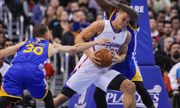 It has been a rough start to the 2015 season for Blake Griffin. Photo by Robert Hanashiro-USA TODAY Sports