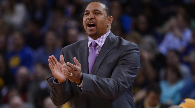 Steve Kerr is building off everything built by Mark Jackson. Photo by Kyle Terada-USA TODAY Sports