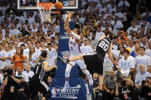 Russell Westbrook was Oklahoma City's best player for the balance of the playoffs, and he was the best player on the floor for most of the second half. Yet, San Antonio's ability to    win with various unlikely lineup combinations in the absence of Tony Parker was somehow able to end the Thunder's season in a building where they hadn't lost to the Spurs in nine tries.