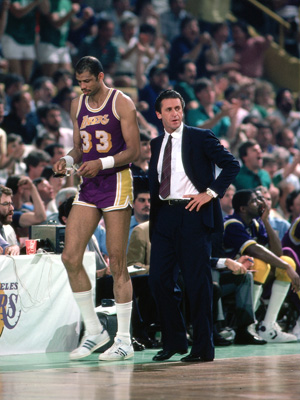 He stood beside a giant named Kareem, then Shaq. He's won titles as a coach and an executive. He's convinced players to work for him in huddles... and as a wining-and-dining salesman with a vision to offer. Pat Riley stands at so many different intersections in the NBA's sprawling history, and that centrality only increases each time the Heat return to the NBA Finals.