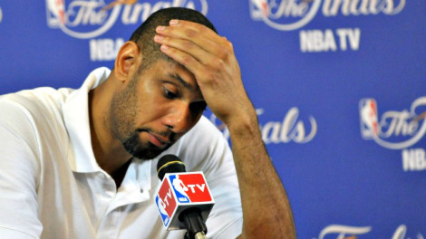 The disappointment etched on Tim Duncan's unusually expressive face after Game 7 of the 2013 Finals is what he will try to expunge in the next two weeks. This is the dramatic center and essence of the 2014 edition of Spurs-Heat.
