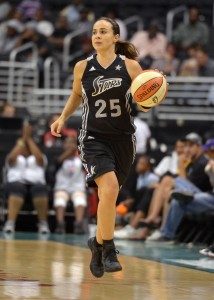 Among Becky Hammon's accolades is being named one of the 15 greatest players in WNBA history. Photo by Kirby Lee/Image of Sport-USA TODAY Sports