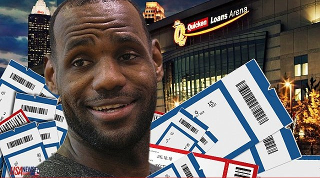 LEBRON TICKETS
