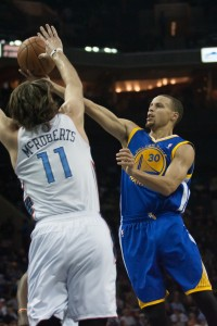 Stephen Curry is proving to be a big draw for opposing fans. Photo by Jeremy Brevard-USA TODAY Sports