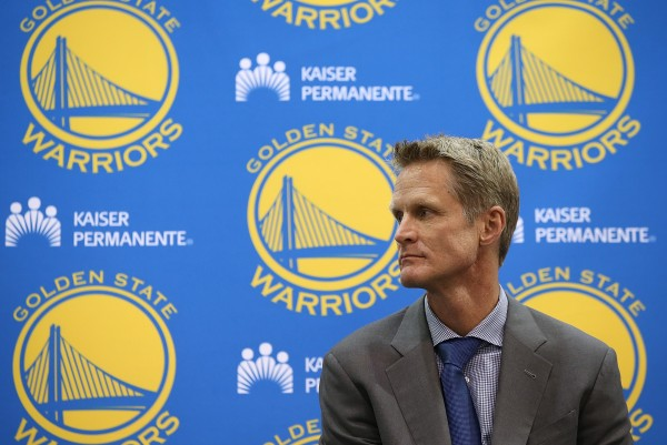 Steve Kerr has returned to coaching for the second half of the season