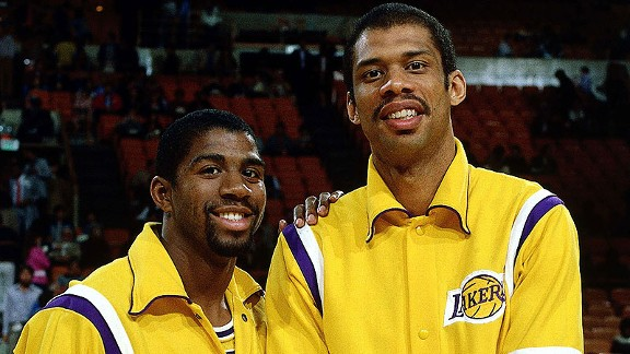 Image result for kareem and magic