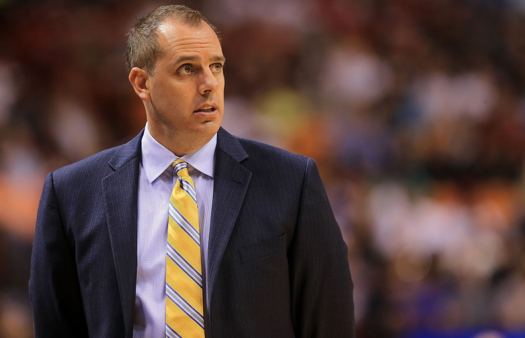 Frank Vogel has his team ranked sixth in the Eastern Conference at the moment (credit: Mike Ehrmann/Getty Images)