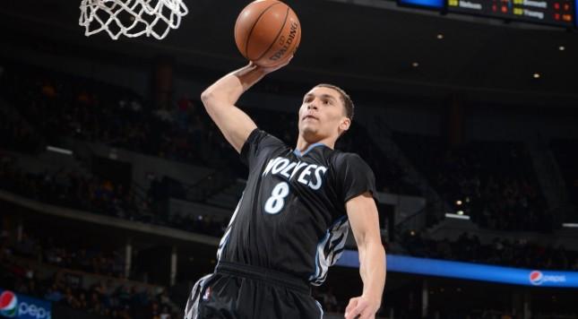 NBA Zach lavine