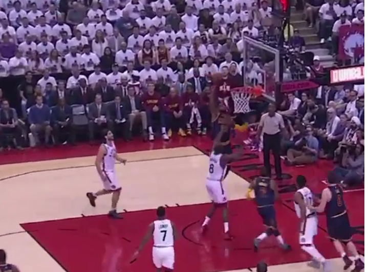 Watch: Kyrie Irving throws alley-oop to LeBron James ...