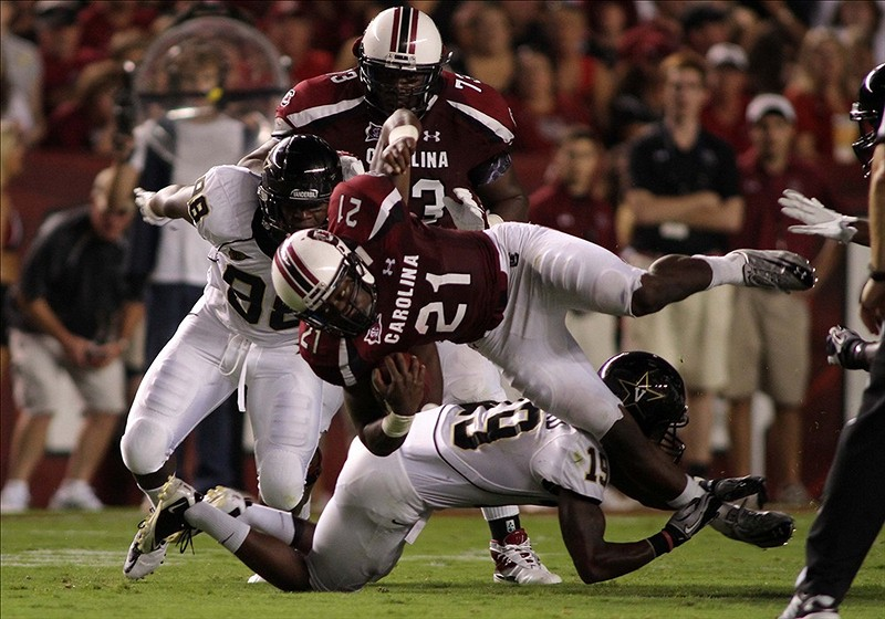 Will South Carolina find Vanderbilt to be a tough opening opponent?
