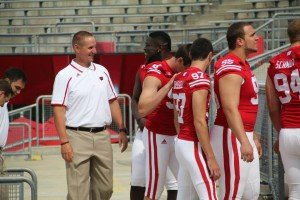 Gary_Andersen_Media_Day_with_Players_300x200