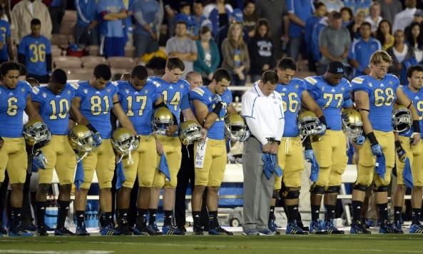 UCLA Moment of Silence